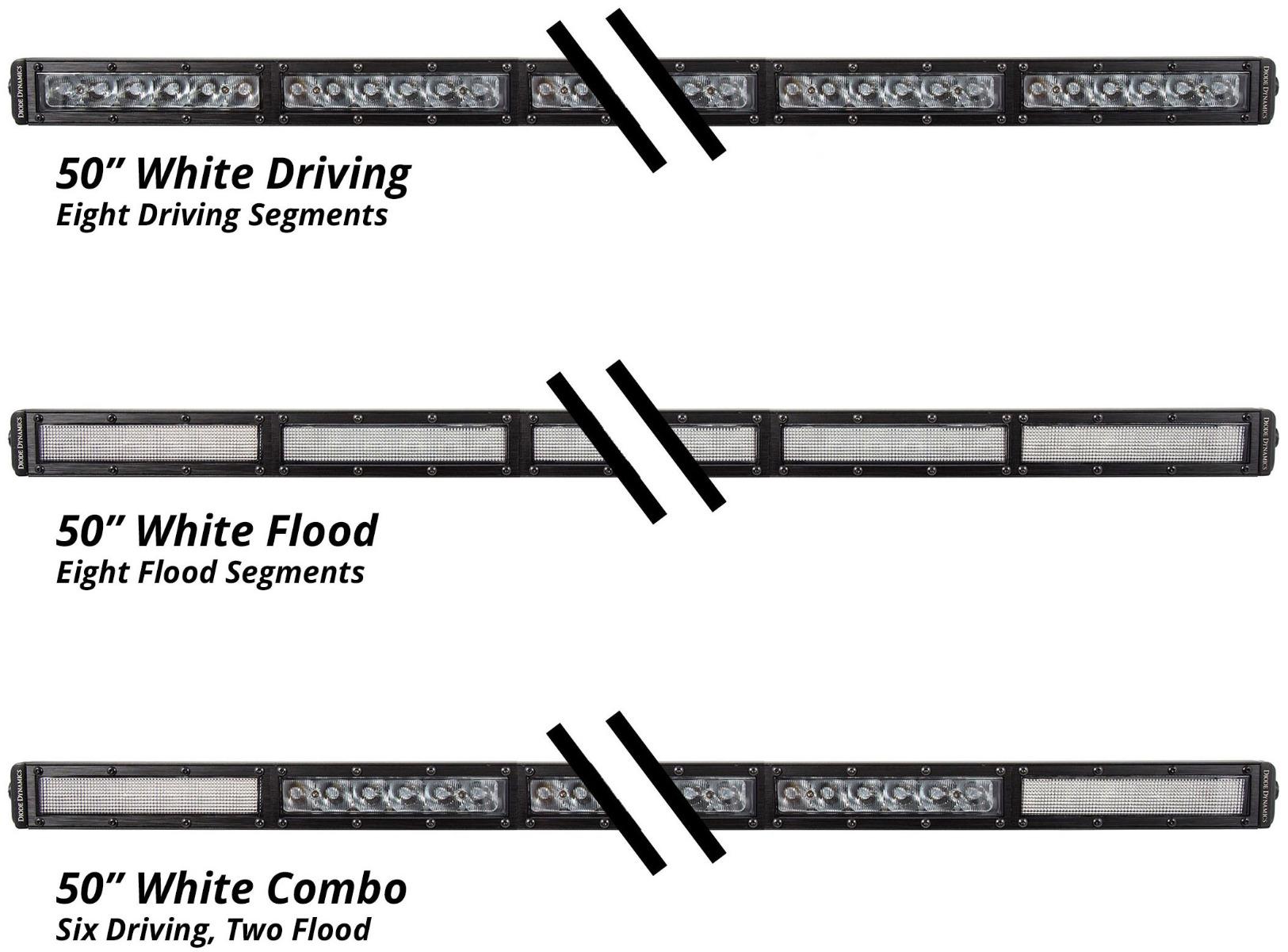 50inch White LED Light Bar