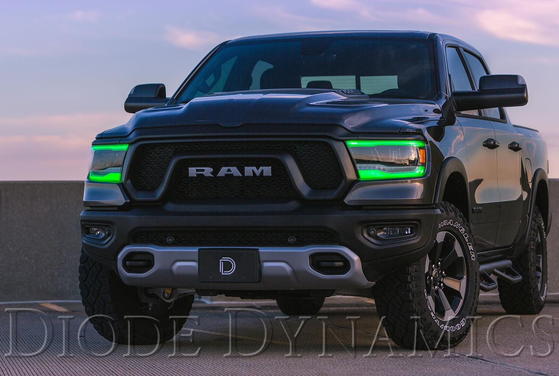 2019 Ram 1500 Multicolor DRL LED Board Upgrade
