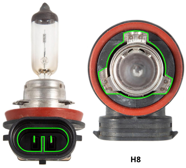 H8 stock bulb